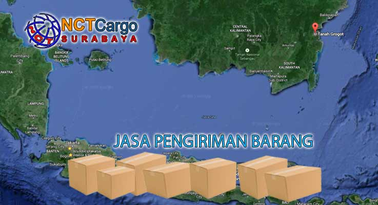 Jasa Pengiriman Barang Surabaya Tanah Grogot
