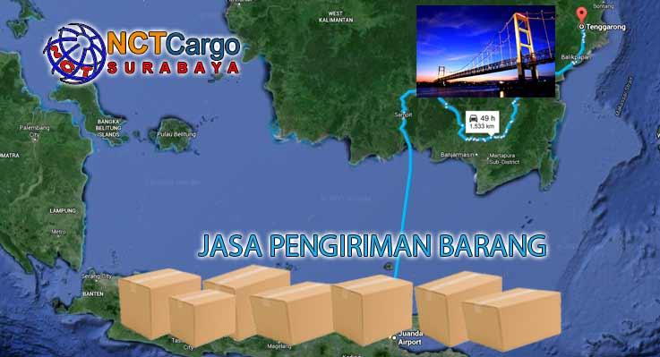 Jasa Pengiriman Barang Surabaya ke Tenggarong Kaltim