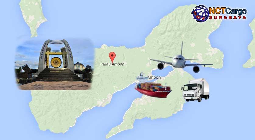 Jasa Pengiriman Barang Surabaya Ambon