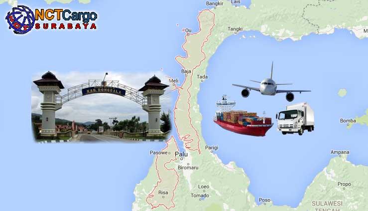 Jasa Pengiriman Barang Surabaya Donggala Sulteng