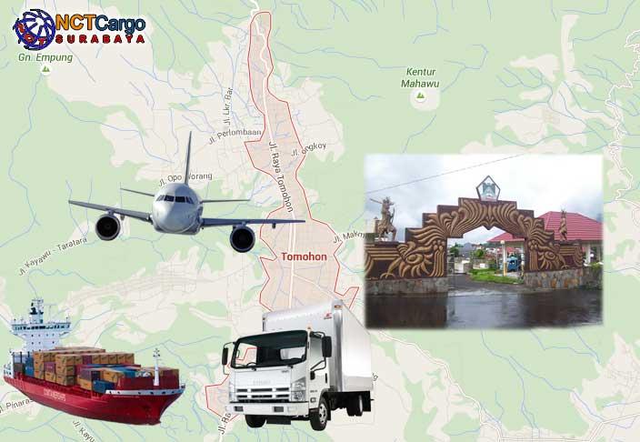 Jasa Pengiriman Barang Surabaya Ekspedisi Cargo ke Tomohon