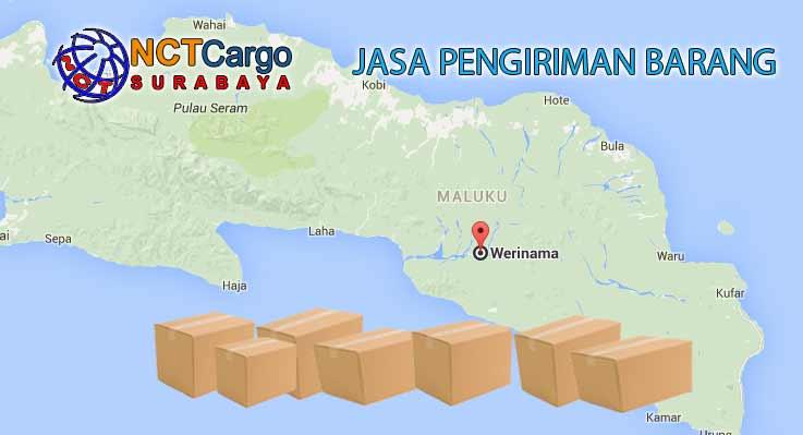 Jasa Pengiriman Barang Surabaya ke Werinama Seram Timur Maluku