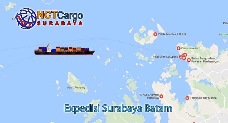 Expedisi Surabaya Batam Bersama NCT Cargo