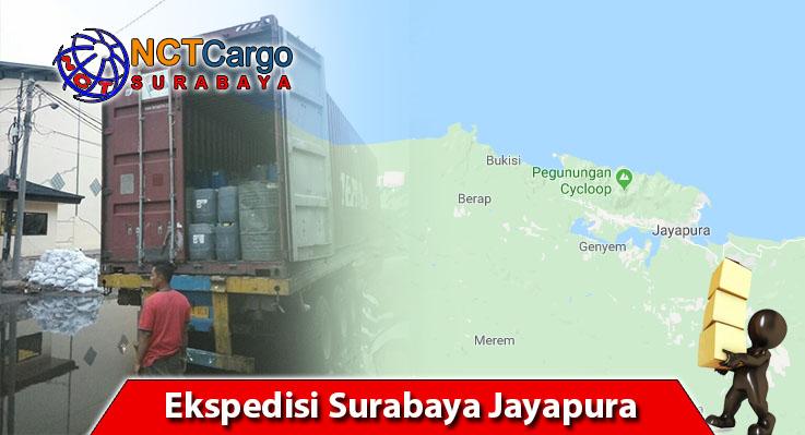 NCT Surabaya Menyediakan Jasa Ekspedisi Surabaya Jayapura Terbaik