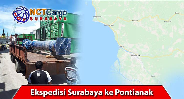 Ekspedisi Surabaya ke Pontianak
