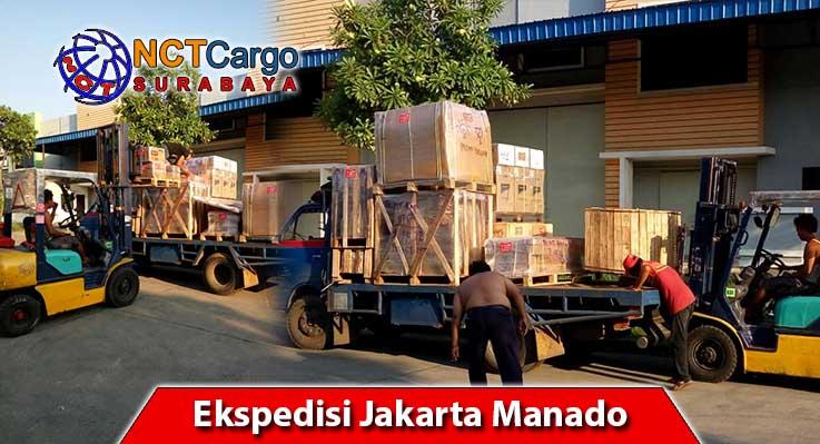 Pengiriman Ekspedisi Jakarta Manado Dengan NCT Surabaya