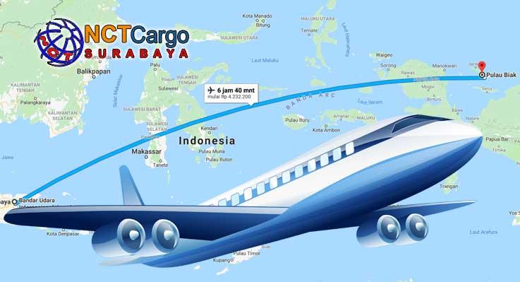 Ekspedisi Surabaya Biak Dengan Biaya Murah