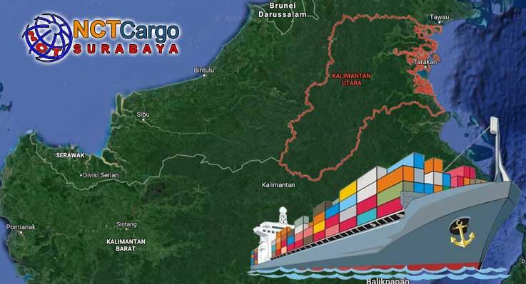 Ekspedisi Surabaya Kalimantan Utara Tarif Murah Cargo Logistik