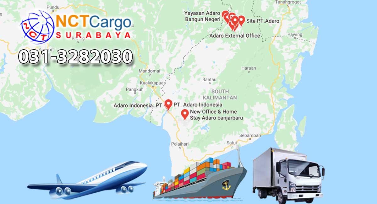 Jasa Pengiriman Barang Surabaya ke Adaro