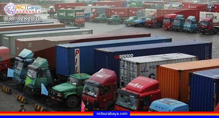 ekspedisi kontainer surabaya manado