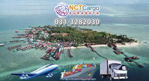 jasa pengiriman barang Surabaya ke Tanjung Redeb
