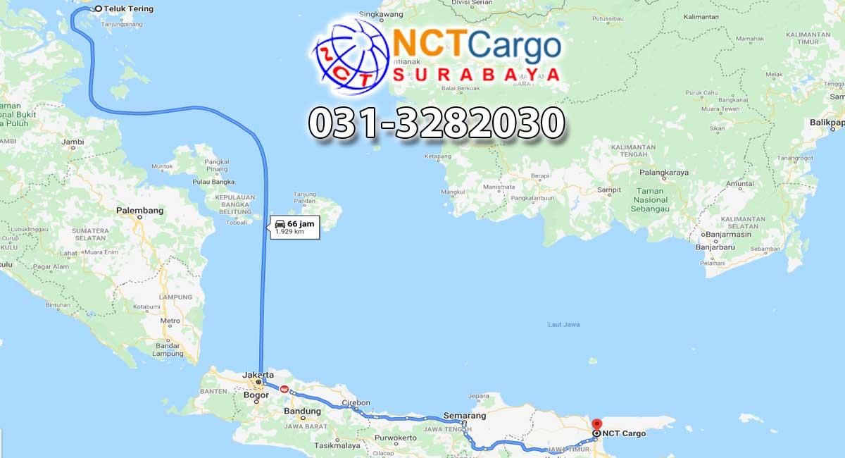 Estimasi Waktu Pengiriman Cargo Dari Batam Ke Surabaya